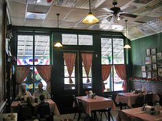 Interior, Bell Buckle Cafe, Bell Buckle, Tennessee