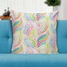 Capa para almofada Watercolor indian pattern 45x45