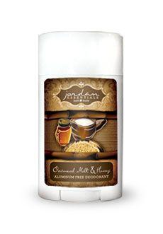 Jordan Essentials - Oatmeal, Milk, and Honey Aluminum-Free Deodorant http://www.myjestore.com/lissasnyder