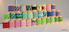 lots of washi tape  <3