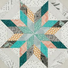 Quilt Blocks from our Quiltmaker's 100 Blocks Vol. 11. Check out our blog for more quilt blocks and giveaways!