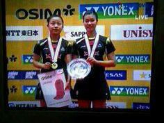 WD Final #JapanSS Ma Jin/Tang Jinhua [CHN] beat Christinna Pedersen/Kamilla Rytter [DEN] 21-11 21-14