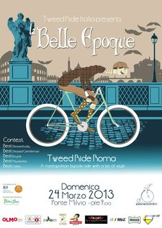 """Tweed Ride """"La Belle Epoque"""" Roma - Marzo 2013"""