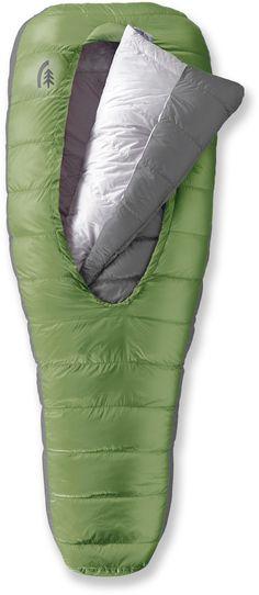 finally a sleeping bag that actually looks comfortable!   Sierra Designs Backcountry Bed 600 3-Season Sleeping Bag