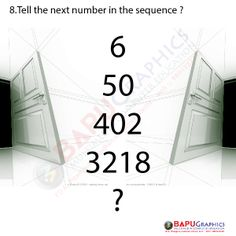 Tell next Number Morning Routine School, Maths Puzzles, Brain Teasers, Numbers, This Or That Questions, Mind Games, Math Puzzles Brain Teasers, Numeracy, The Riddler