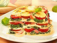 Spinat-Lachs-Lasagne -