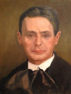 Painting Every Day: Portrait of Rudolf Steiner. Schools Around The World, Rudolf Steiner, Fine Art, Black And White, Portrait, Painting, Caricatures, Sculptures, Pictures