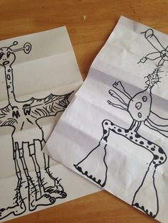 Lovely simple play ideas for kids.Kids art and fun combined in this retro game we can probably all recall playing