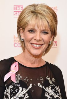 Ruth Langsford Photos - Breast Cancer Care's London Fashion Show 2015 - Zimbio Short Hair With Layers, Short Hair Cuts, Medium Hair Styles, Short Hair Styles, Bob Styles, Ruth Langsford, Fashion Shows 2015, Short Blonde, Short Bob Hairstyles