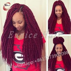 Crochet Braids Two Strand Twist Havana Mambo Synthetic Curly hair style,African Braiding Cheap Hair Extensions Free Shipping
