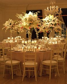 Huge centerpieces