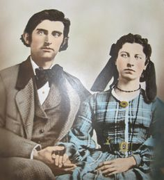 Peter and Eliza Ingalls (Pa's brother and Ma's sister, who were married)