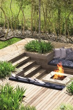 Fire Pit Design Idea For More Attractive – Best Outdoor Fire. - Fire Pit Design Idea For More Attractive – Best Outdoor Fire. Sunken Fire Pits, Diy Fire Pit, Fire Pit Backyard, Pool Backyard, Sunken Patio, Garden Fire Pit, Patio Fire Pits, Sunken Garden, Backyard Seating