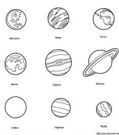 Solar System Coloring Pages For Kids. Here you can find the different planets our solar system in the Solar System coloring pages. The solar system is a planeta Planet Coloring Pages, Coloring Pages For Kids, Coloring Sheets, Kids Coloring, Coloring Rocks, Space Coloring Pages, Solar System Coloring Pages, Solar System Projects For Kids, Planet Colors