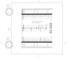 Galería de Arquitectura para Bicicletas: ejemplos de ciclovías, estacionamientos y tiendas - 30 Parking Plan, Parking Design, Entrance Gates, Master Plan, Architecture Plan, Floor Plans, How To Plan, Gallery, Projects