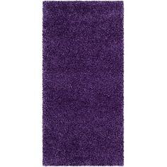 Found it at Wayfair - Milan Shag Purple Rug