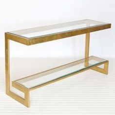 Worlds Away Noho Low Console - Bronze | View All - Consoles | Consoles | Living Room | Furniture | Candelabra, Inc.