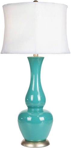 """Magnolia 30"""" H Table Lamp with Drum Shade"""