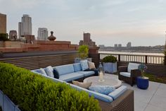 West End Avenue Roof Terraces - Projects - Sawyer   Berson