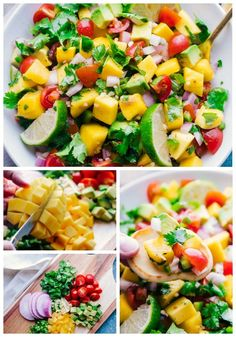 I'm absolutely in love with the Mango Salsa recipe. Whether it's served with chips or topped on a fish taco, it is light, refreshing and insanely delicious.