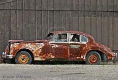 a little rusty