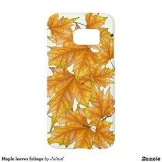 Maple leaves foliage samsung galaxy s7 case