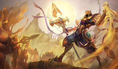 Azir | League of Legends Azir was a mortal emperor of Shurima in a far distant age, a proud man who stood at the cusp of immortality. His hubris saw him betrayed and murdered at the moment of his greatest triumph, but now, millennia later, he has been reborn as an Ascended being of immense power. With his buried city risen from the sand, Azir seeks to restore Shurima to its former glory.