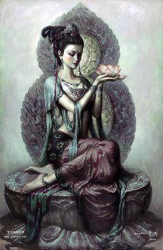 Kuan Yin by Zeng Hao