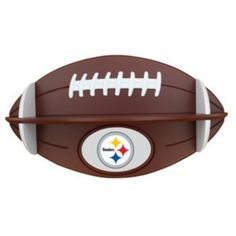 Pittsburgh Steelers Football Shelf.. need for the game room!