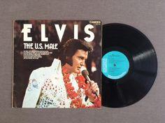 Elvis Presley 'The U.S. Male'. 1975, Vinyl LP