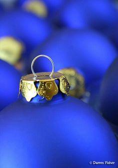 Blue Christmas.... Beautiful Blue!