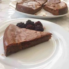Healthy Peanut Butter Brownie Cake- Vegan + Gluten Free