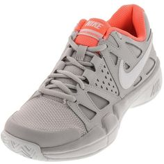 1d05449e0f61 Nike Women s air Vapor Advantage Tennis Shoes in Vast Gray and White (290  PEN)
