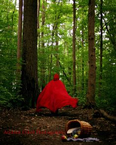 Red Riding Hood The Wolf is Coming 5x7 Fine Art by PhotoReverie, $15.00
