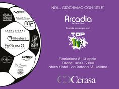 8 - 13 Aprile: fai Goal con i Bagni Cerasa al Fuorisalone di Milano.  - http://blog.cerasa.it/2014/03/8-13-aprile-fai-goal-con-i-bagni-cerasa-al-fuorisalone-di-milano/