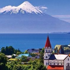Nope, it's Puerto Varas, Chile. Best Places To Travel, Great Places, Places To See, Sur Chile, Bohinj, Beautiful Places To Visit, Adventure Is Out There, Vacation Spots, Travel Pictures