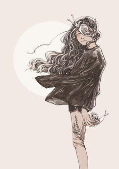 """""""Escargot Princess,"""" by Soltreis."""