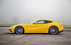 2012 Novitec Rosso Ferrari F12 Berlinetta:  6.3 Liter V12 DOHC. 763 Horsepower. Top Speed of 214 mph.