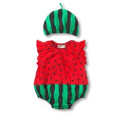 Sơ sinh không tay bé gái áo liền quần quần áo Sets (romper + Hat 2 Pcs) Infant bé trai quần áo trẻ rompers