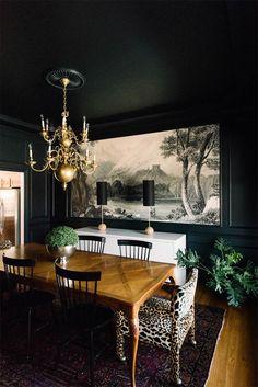 10 comedores negros llenos de estilo · 10 stylish black dining rooms - Vintage & Chic. Pequeñas historias de decoración · Vintage & Chic. Pequeñas historias de decoración · Blog decoración. Vintage. DIY. Ideas para decorar tu casa