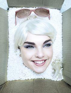 Beauty Portrait Ellen Burton Hunger Box