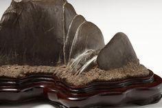 Kagedo Japanese Art Furuya Scholar's Stone titled: Yamatogawa - Kagedo Japanese Art