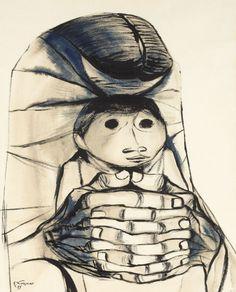 by Eduardo Kingman Riofrío (Loja 1913~1997 Quito) who was one of Ecuador's…