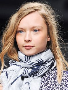 The Best Hair of Spring 2014 Fashion Week - New York Fashion Week Spring 2014 Hair Trends - Marie Claire
