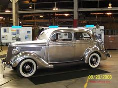1935 Ford in Stainless Steel