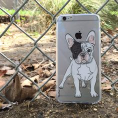 BELLA THE FRENCHIE - A small French Bulldog is a keen and affectionate dog. Come shop with us at http://www.flavorcases.com/collections/animals