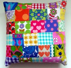 Patchwork cushion ♥ made by Lisa Jane