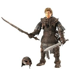 Lord of the Rings Return of the King Action Figure Samwise Gamgee In Goblin Armor Lord of the Rings