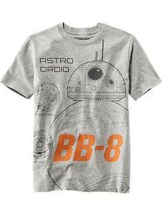 "Boys Star Wars ™ ""Astro-Droid BB-8"" Tee   Old Navy"