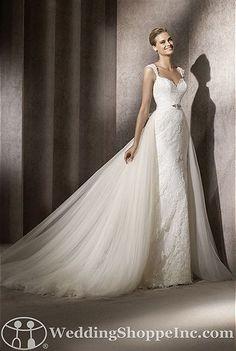 Pronovias Bridal Gown Balta - Visit Wedding Shoppe Inc. for designer bridal gowns, bridesmaid dresses, and much more at http://www.weddingshoppeinc.com